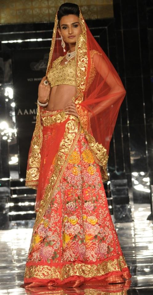 Pallavi Jaikishan bridal wear the India Bridal Week