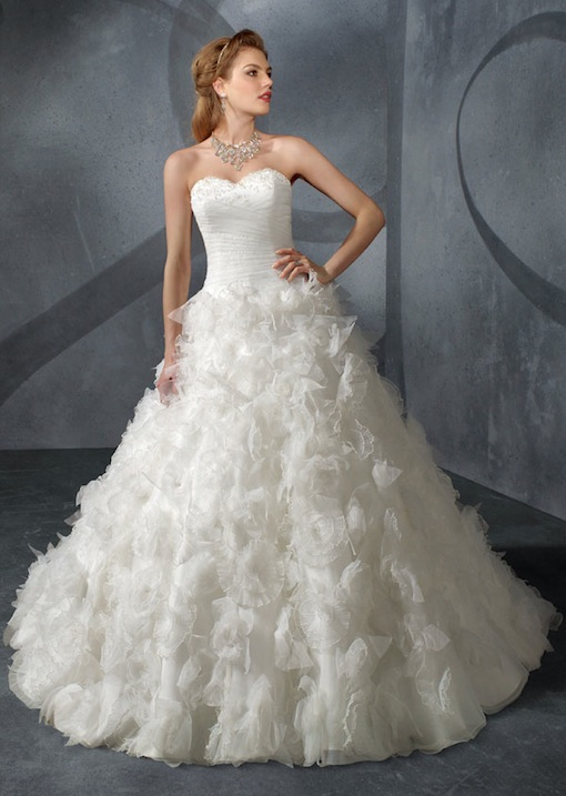 Ball gown for wedding