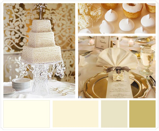 ivorycolorweddingtheme Another thing you could do to make your d cor