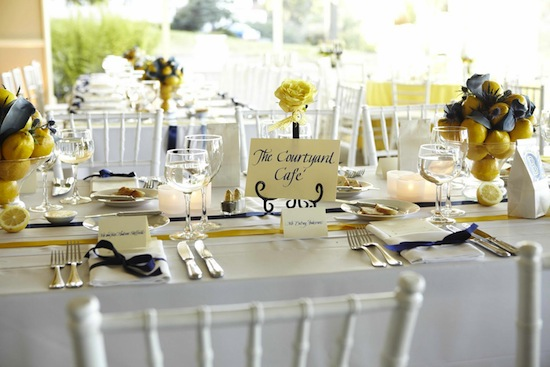 themed tables wedding