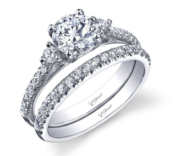 Popular new wedding rings