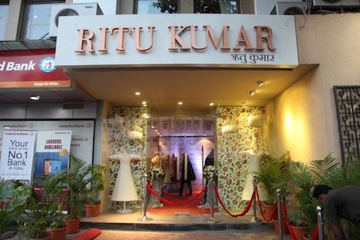 Ritu Kumar Flagship store at Raghuvanshi Mills 3