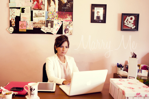 Candice Pereira At Marry Me Office