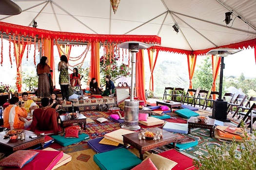 wedding tent for mehendi in India