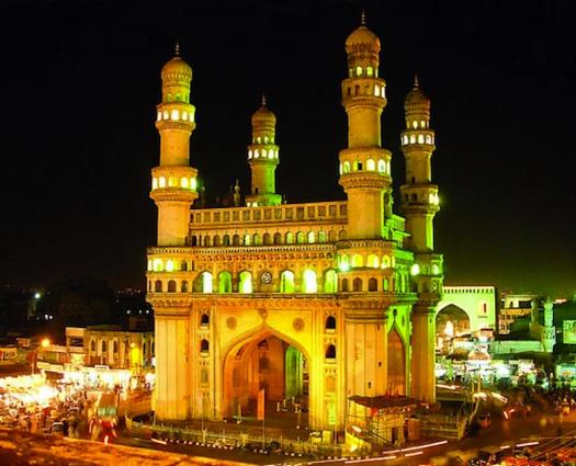 Charminar Palace in Hyderabad