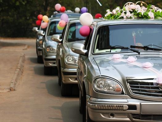 wedding cars decorated