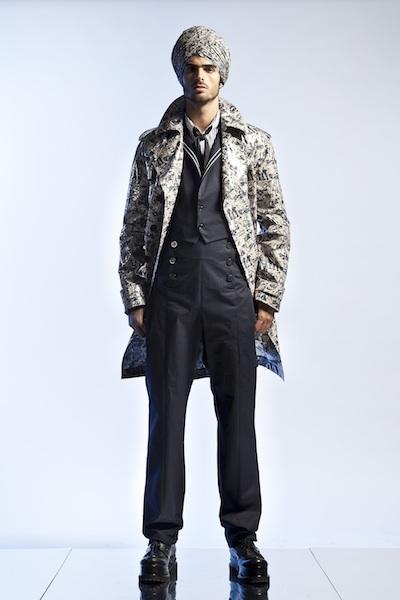 Men's wear by Jean Paul Gaultier Spring Summer 2013
