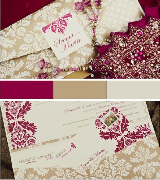 themed wedding invites