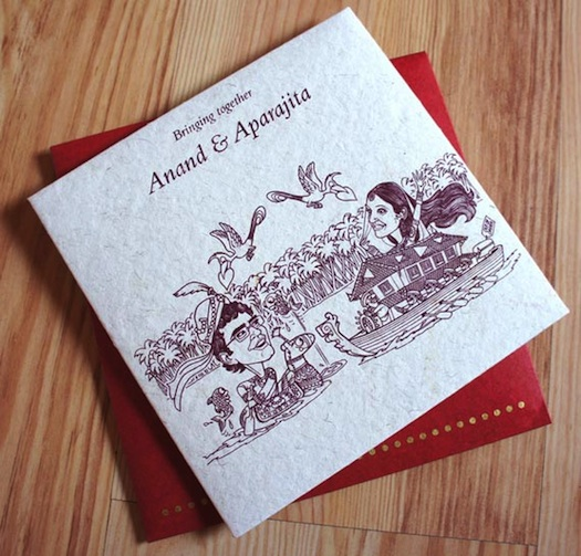 traditional Indian wedding invites