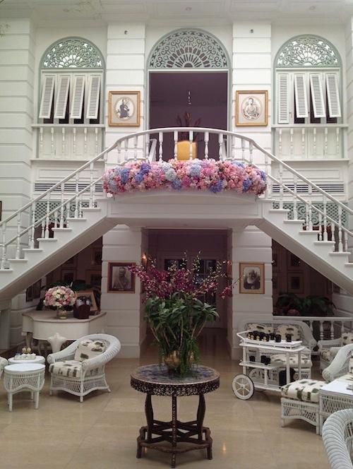 Authors Lounge at Mandarin Oriental