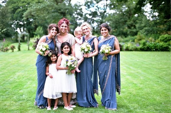 Indian wedding blue