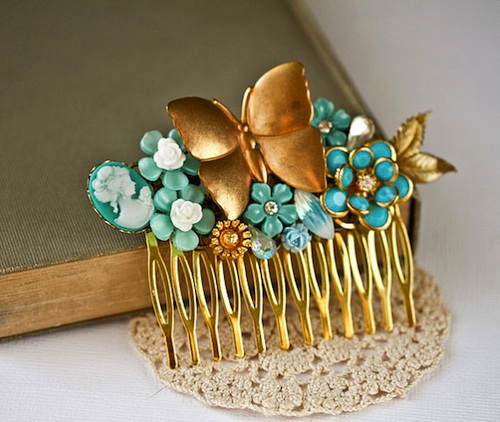 hair accessories wedding