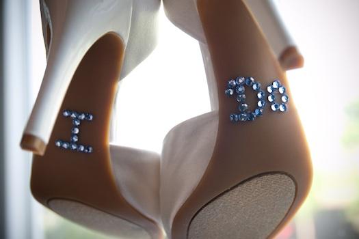 intresting wedding shoes