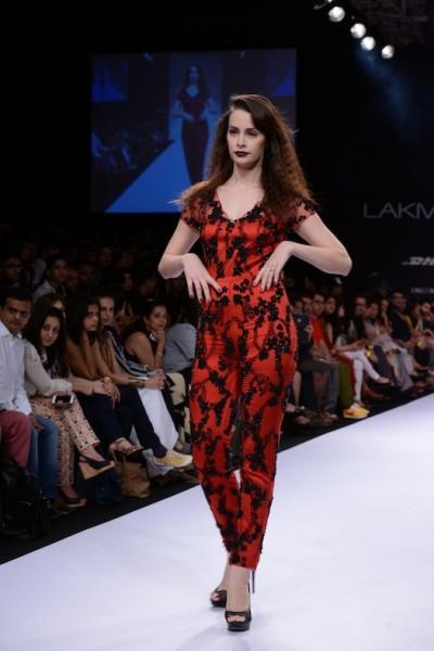 sheila khan collection at Lakme Fashion week 2013