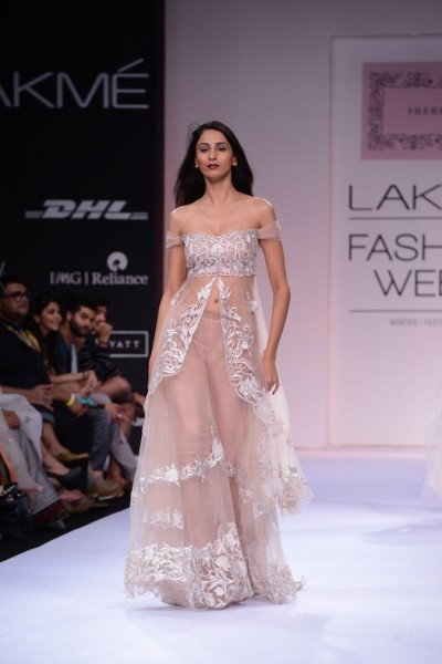 Shehlaa Khan collection at Lakme Fashion week