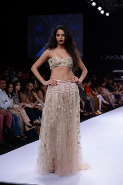 Shehlaa Khan show at Lakme Fashion week