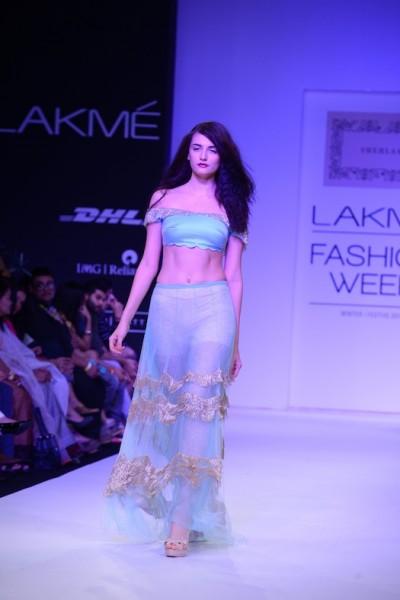 models walking the ramp for Shehlaa Khan