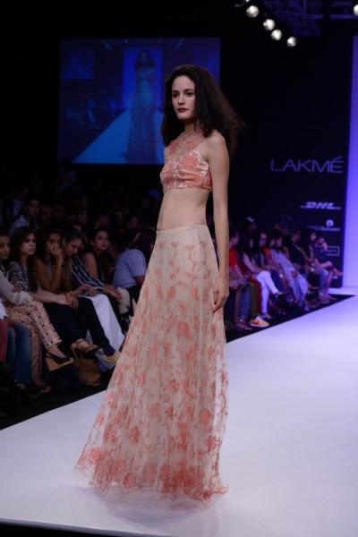 Shehlaa Khan fashion show at LFW
