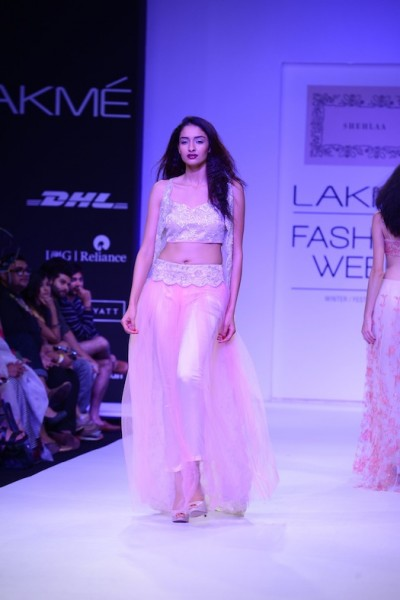 Shehlaa Khan presents her collection at Fashion week
