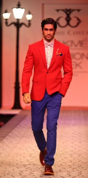 Troy Costa's show at LFW
