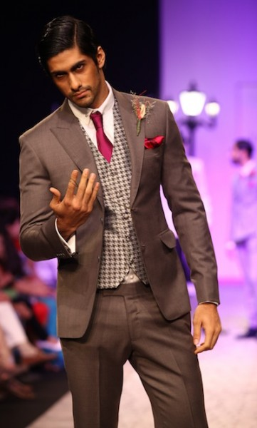 Troy Costa's show at Lakme Fashion week 2013