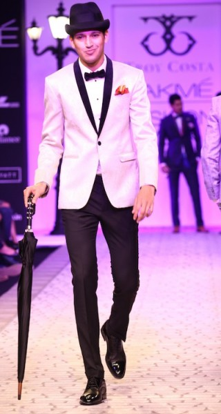 acquin pais for Troy Costa at Lakme Fashion week 2013