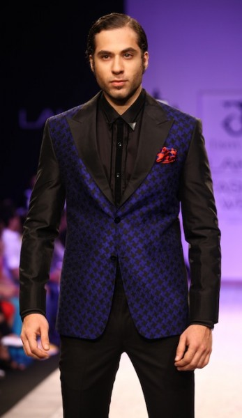 designer Troy Costa's show at Lakme Fashion week