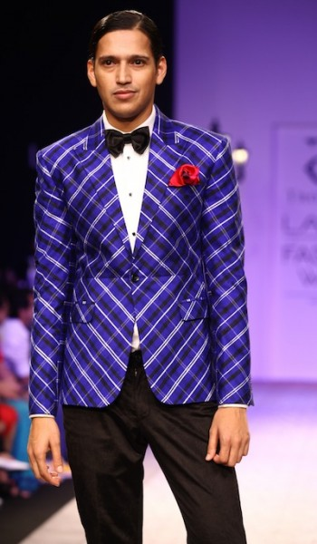 ramp at Lakme Fashion week 2013 show Troy Costa