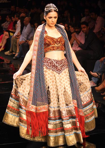 Lakme Fashion week - JJ Vallaya