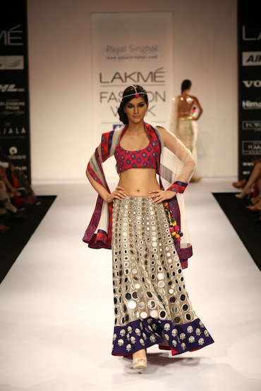 Payal-Singhal-Lakme Fashion week