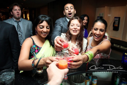 Punjabi after party wedding