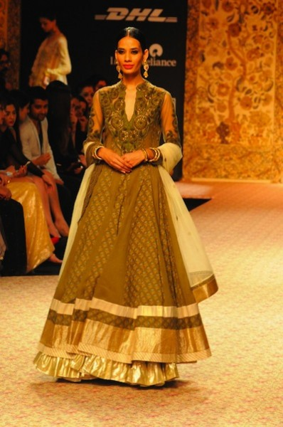 Ritu Kumar bridal designs 2013