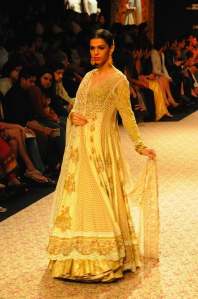 Ritu Kumar show at LFW