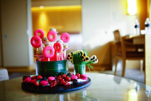 Lollipop pastries for Indian wedding