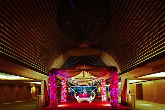 Mandap at Ritz Carlton Singapore