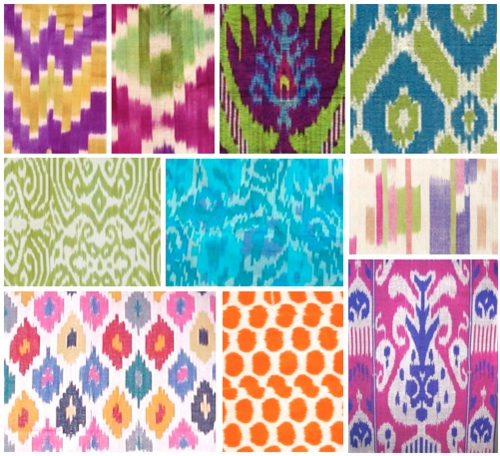 Ikat designs used for Indian weddings