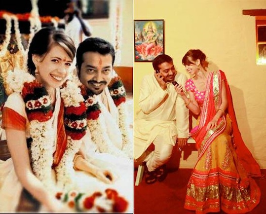 Anurag Kashyap and Kalki Koechlin wedding