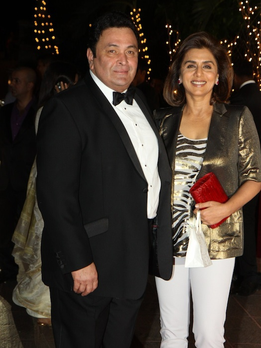 Rishi Kapoor and Neeti Kapoor Wedding