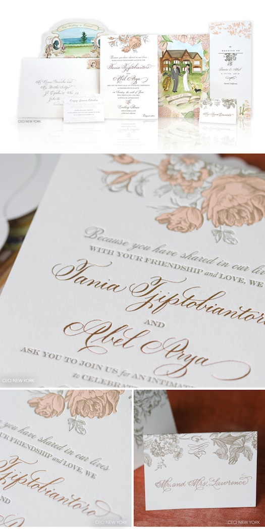 hand written calligraphy on wedding invites Mumbai