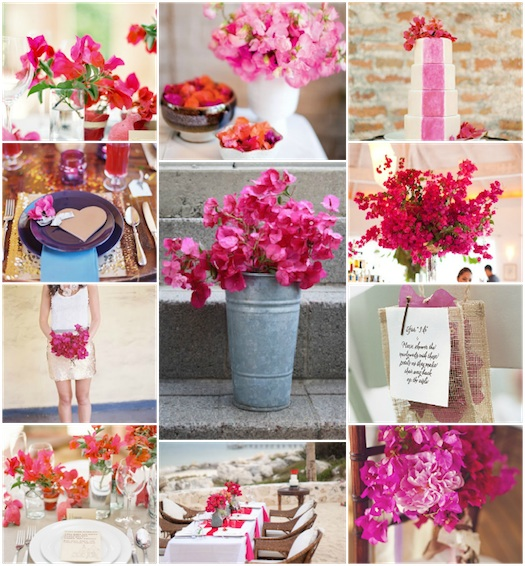 summer pink indian wedding