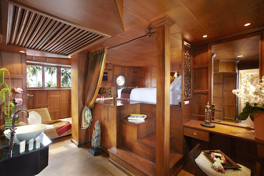 Cabin inside Anantara Song Cruise