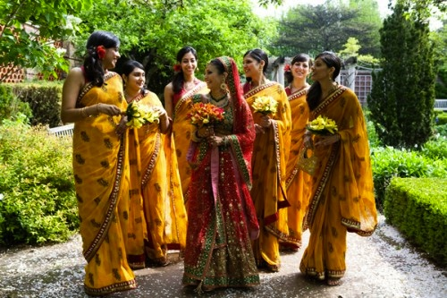 Indian-wedding-bridesmaids