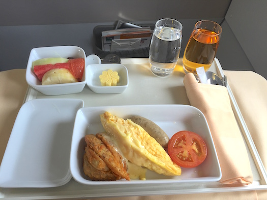 Breakfast Silkair