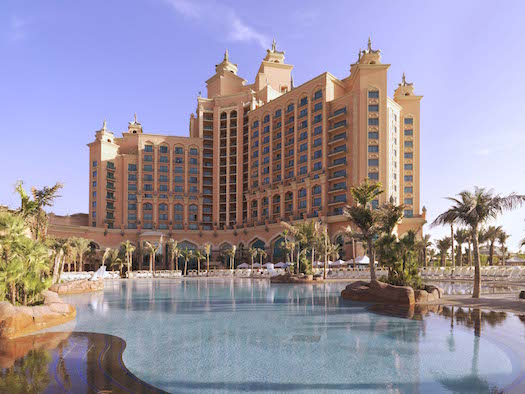 Pool at Atlantis the palm Dubai