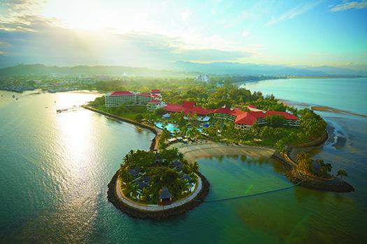Aerial View Tanjung