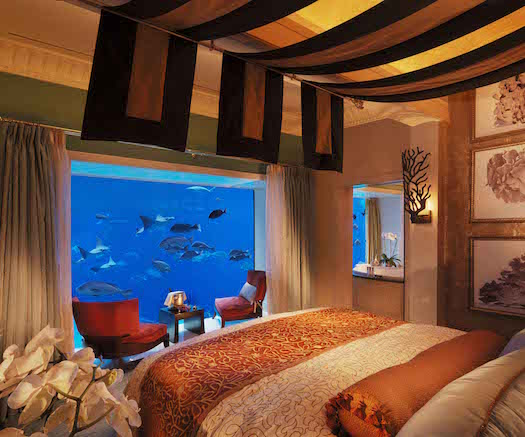 Atlantis, The Palm_Underwater Suites_ Bedroom