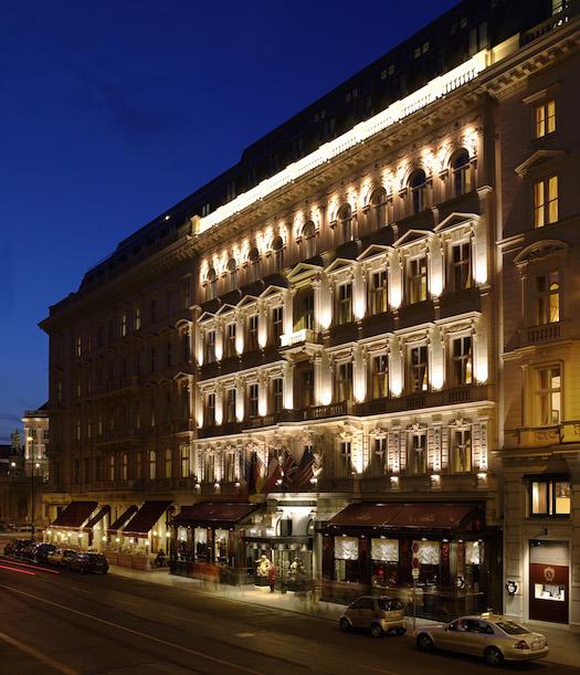 Frontansicht - Hotel Sacher Vienna