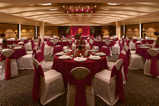 Hyatt Regency Banquet Setup