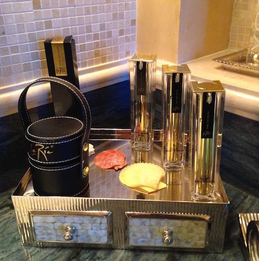 LA Ric bath products at Atlantis Dubai