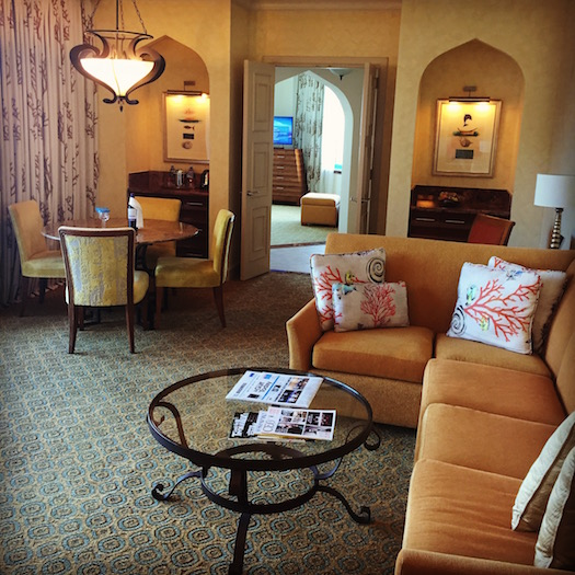 executive suite at Atlantis The Palm Dubai